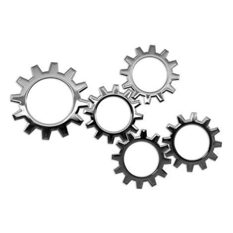 Assen en metalen onderdelen