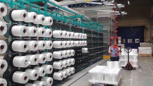 Hefsysteem voor Veranneman Technical Textiles